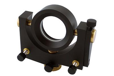 Full Rotation Range Gimbal Mirror Mounts